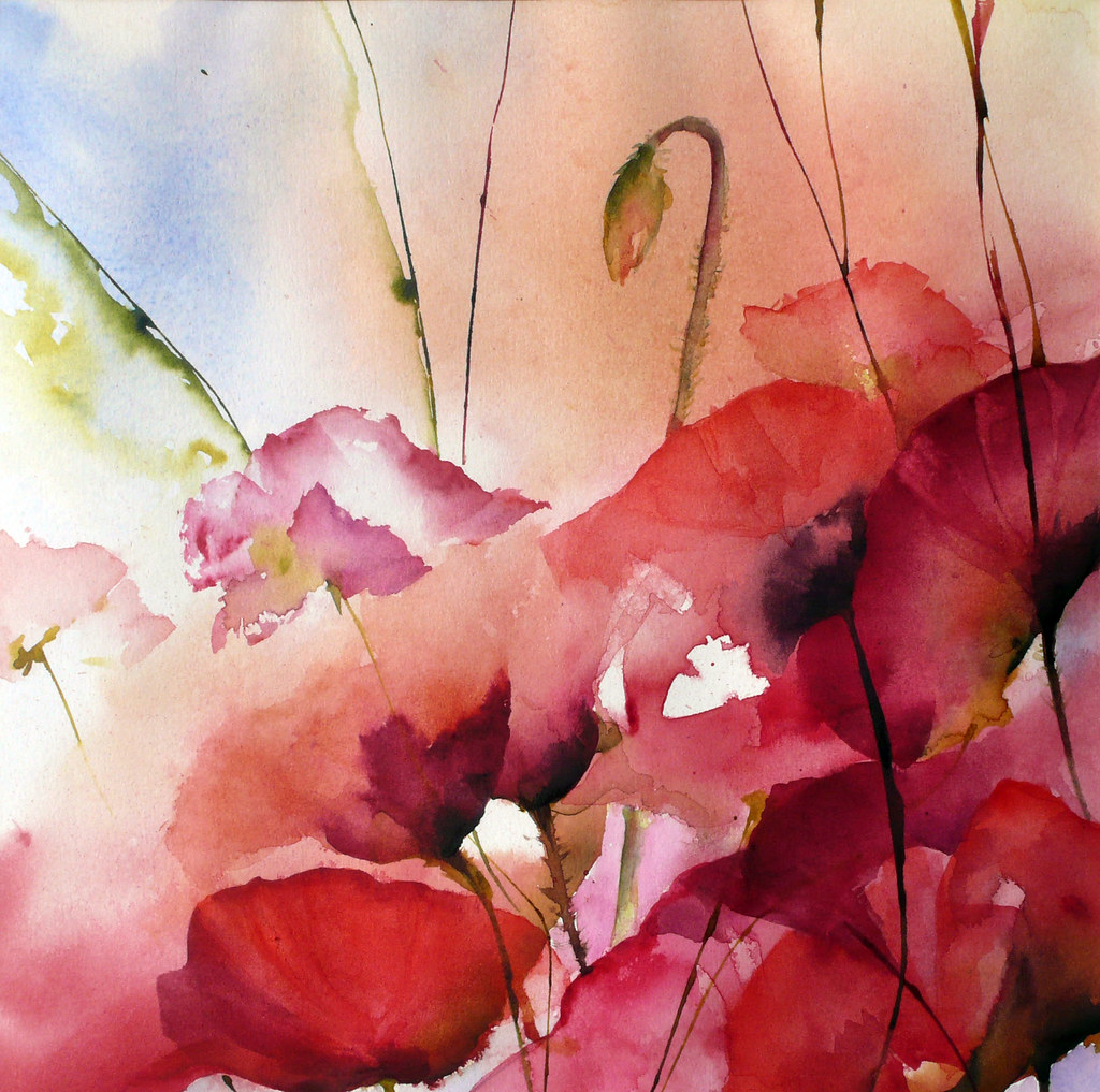 The world 39 s best photos of aquarelle and piaser flickr hive mind - Peinture sur toile ...