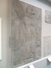 Eagle-headed Protective Spirit (D. S. Haas) Tags: uk greatbritain england sculpture london unitedkingdom camden relief bloomsbury britishmuseum middlesex assyria halas nimrud ashurnasirpalii unitedkingdomofgreatbritainandnorthernireland haas ancientassyria eagleheadedprotectivespirit