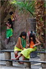 IMG_0289 Young Kuikuro girls at the Toca da Raposa ceremony./ Jovens Meninas Kuikuro na ceremonia na Toca da Raposa. (Wilfred Paulse) Tags: brazil colour beauty brasil cores necklace indian clothes xingu beleza bodypainting tribe colar cor indigenas indio tribo indigenous roupa chinelo indigena brazilianindians etnia tocadaraposa indiangirls kuikuro altoxingu indiosdobrasil etniakuikuro pinturanocorpo wilfredpaulse ethnicgroupkuikuro meninasindias