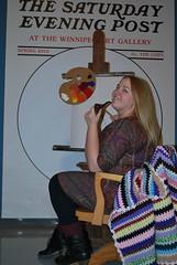 Aline (Winnipeg Art Gallery) Tags: art museum studio gallery winnipeg manitoba wag normanrockwell saturdayeveningpost winnipegartgallery americanchroniclestheartofnormanrockwell