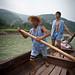 Shennong Stream boatmen
