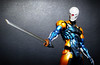 Gray Fox - Cyborg Ninja (Play Arts Kai) (Jova Cheung) Tags: toys actionfigure grayfox metalgearsolid cyborgninja playartskai