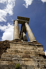 """Roman Forum - Temple of Saturn • <a style=""""font-size:0.8em;"""" href=""""http://www.flickr.com/photos/89679026@N00/6970747634/"""" target=""""_blank"""">View on Flickr</a>"""
