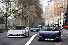London Crusing. (Alex Penfold) Tags: auto park camera cruise blue london cars alex sports car sport mobile canon silver photography eos grey spider photo cool flickr image awesome flash picture super ferrari spot exotic photograph lane spotted hyper gto convoy supercar parklane spotting exotica m12 sportscar 2012 noble sportscars f430 supercars 430 tdf penfold 355 3r spotter hypercar 60d hypercars alexpenfold