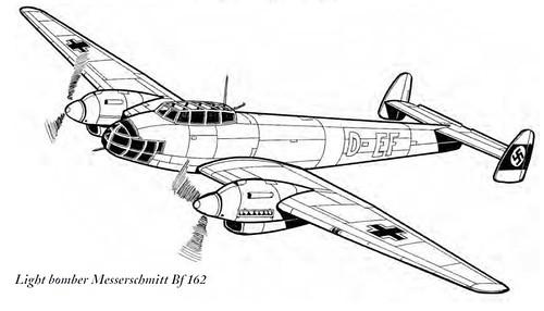 Messerschmitt Bf 161 - reconnaissance aircraft