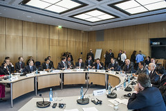 The Ministers' Roundtable: The Automotive Future underway on Day 1 of the Summit