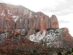 Northwest corner of Zion National Park (eszter) Tags: mountain snow northwest zionnationalpark 2012 mar12