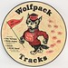 266. Wolfpack Tracks Record, Team Signed