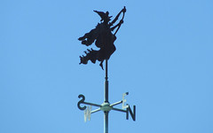 Witch - Weathervane (blazer8696) Tags: railroad usa unitedstates witch connecticut ct line hazel valley weathervane essex dickinson dickinsons ecw centerbrook rte9 img6524 t2012 rte153 rte154