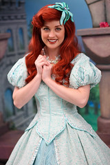Princess Ariel (heytherejere) Tags: disneyland disney fantasyland thelittlemermaid disneycharacters disneyprincesses disneycastmembers explored princessariel disneyparks princessfantasyfaire disneyprincessroyalwalk