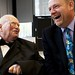 Sir Patrick Moore and Mark Thompson
