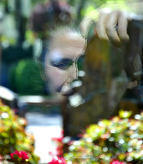 Reflective Selfie  (Explored) (misst.shs) Tags: reflection spring nikon bokeh conventioncenter cliche selfie seattlewa hcs d90 clichesaturday