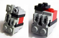 Elaborating on Slnine's vent technique (Blake Foster) Tags: vent lego greeble