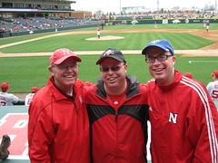 Baum Stadium - Husker Baseball Game (eric.langhorst) Tags: baseball april arkansas huskers 2014