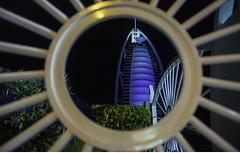 Burj Al Arab (Andy Arciga) Tags: nightphotography dubai nightshot burjalarab handheld framing jumeirah flickercom nikkor2870f28 nikond600