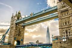 Tower Bridge & The Shard (damienvickers73) Tags: bridge london thames skyline towerbridge londonbridge river shard riverthames theshard