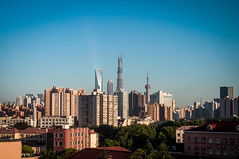 A Shanghai skyline (David Baggins) Tags: skyline shanghai   hongkou