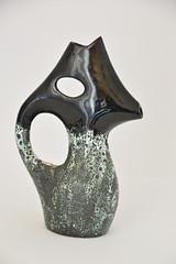 vase pumice and drip like miro (dekker@dekker) Tags: france vintage ceramics vase ceramique pumice vaas vallauris fatlava volcanicglazes