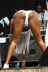 One of Big Freedia's Dancers (kowarski) Tags: music concert neworleans booty nola jazzfest bounce twerking
