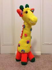 Mary Ann Mason (The Crochet Crowd) Tags: mikey giraffe redheart crochettoy mysteryadventure freeamigurumipattern mysterycrochetalong thecrochetcrowd michaelsellick freeonlinetutorial thecrochetcrowdcrochetalong freegiraffecrochetpattern freecrochetvideo