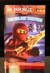 Golden Weapons (Vernon Barford School Library) Tags: show new school west television toy toys reading book golden tv high lego good ninja library libraries reads evil books super read paperback master fantasy cover weapon junior shows covers bookcover masters pick middle ninjas tracey vernon quick recent picks qr weapons sensei bookcovers nonfiction paperbacks scholastic barford softcover fantasyfiction quickreads quickread vernonbarford softcovers ninjago spinjitsu superquickpicks mastersofspinjitsu superquickpick 9780545401159