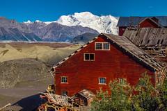 Ye Old Mine (Walter Quirtmair) Tags: old blue red sky usa white mountains alaska vintage mine blackburn kennecott 500px ifttt quirtmair