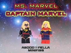Ms. Marvel / Captain Marvel [CUSTOMS] (agoodfella minifigs) Tags: lego custom marvel marvelcomics christo minifigure captainmarvel minifigures ambr msmarvel caroldanvers marvelheroes legosuperheroes legomarvel legomarvelsuperheroes legoavengers