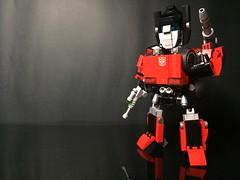 Chibi-Swipe Bot Front 2 (Sam.C MOCs) Tags: lego transformers sideswipe chibi moc mech robot anime scifi car lamborghini countach