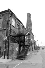 Building at Chatham Dock Yard (confused gem) Tags: chathamdockyard canon600d canonefs1022mmf3545usm blackwhite