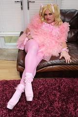 Prissy sissy slut (kellyuk99) Tags: pink sissy prissy