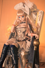 The Pirate Queen () Tags: nikon action dream queen pirate figure bjd nome dd dollfie volks sheryl frontier macross japanesetoy heero d810