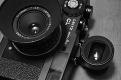 20160506_DP3M9122 (NAMARA EXPRESS) Tags: camera blackandwhite film monochrome japan lens minolta body object 28mm sigma indoor osaka gr filmcamera finder ricoh ricohgr f28 cl viewfinder merrill foveon toyonaka leitz dp3 leitzminoltacl namaraexp