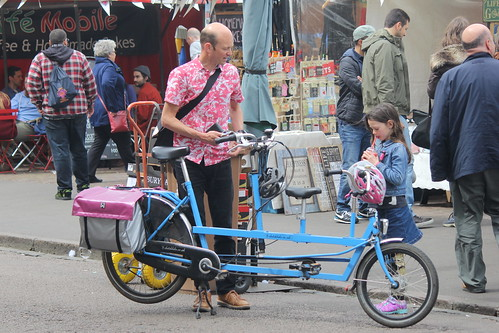 A bicycle built for one and a half
