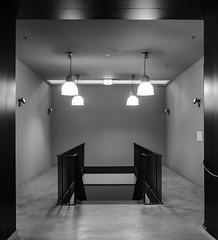 4 lamps (genelabo) Tags: light bw white black stairs canon licht goldberg stuttgart indoor sw lamps werk treppenhaus g16 genelabo