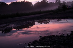 Insanity Dusk #8250 (Dan Meade) Tags: pink sunset sky mist reflection canon dusk tennessee wide wideangle jackson 7d theroad canonefs1022mmf3545usm manicamerican memphq