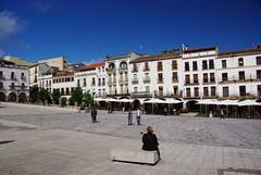 Cceres (Estrmadure/Espagne) (PierreG_09) Tags: espaa architecture spain plazamayor espagne cceres spanien extremadura estrmadure
