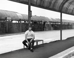 img154 (RiccardoNosvelli) Tags: portrait blackandwhite black film analog photography model bn bnw photoshooting