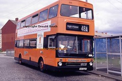 SBL MB21 KGG162Y South Nitshill 1995 (Rightgoodmotor) Tags: sbl strathclyde buses mb21 kgg162y mcw metrobus scottish scotland glasgow bus