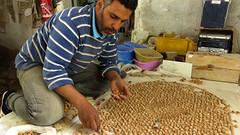 Zellij Artist, Fes (macloo) Tags: geometric tile morocco fez artisan fes zellij