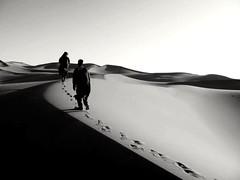 Deserto marocchino - in viaggio (marcobertarelli) Tags: desert travel marocco peace tuareg soundness