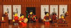 departure of the Samurai (legophthalmos) Tags: history death war lego battle hour samurai choice katana dilemma
