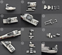 T-65 X wing Instructions (5) (Inthert) Tags: star fighter ship lego luke r2d2 xwing instructions wars skywalker moc t65 sfoils