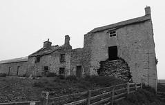 Moor Houses (leavesandpuddles) Tags: blackandwhite bw abandoned monochrome decay farm farming northumberland northumbria desolate derelict ruraldecay decaying dereliction biancoenero ruined allendale moorhouses hexham blancetnoir abandonedfarm