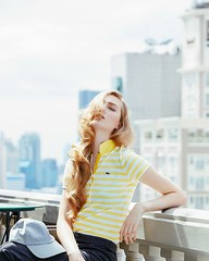 lacoste1 (piamphonchanpiam) Tags: city portrait girl fashion magazine thailand cool view editorial lacoste