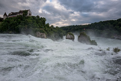 After the rain (mierhhhlich) Tags: river schweiz switzerland waterfall wasserfall schaffhausen fluss rhine rhein rheinfall neuhausen rhinefalls leicaq kantonschaffhausen cantonofschaffhausen