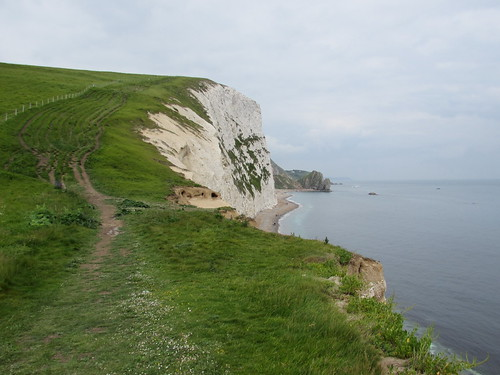Chaldon Herring: View from Bat's Head (Dorset)