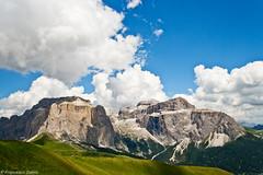 Il massiccio del Sella (cesco.pb) Tags: italy alps canon italia alpi montagna trentino dolomites dolomiti montains canazei efs1855mmf3556 sasspordoi valdifassa grupposella passopordoi campitellodifassa canoneos1000d torrisella