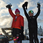 Ethan Shandro and Maja Woolley of the Whistler Mountain Ski Club are Overall Winners at E2 Tyee Cup 2012 PHOTO CREDIT: Maria Sederholm
