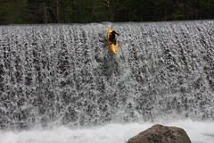 30ft drop Chiroro creek Kayaking extreme Japan