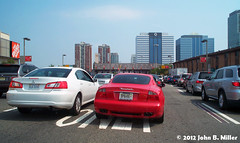 Holland Tunnel - Approach (jmillerdp) Tags: auto street city nyc newyorkcity urban ny newyork color cars car digital automobile exterior kodak transit autos automobiles hollandtunnel dc280